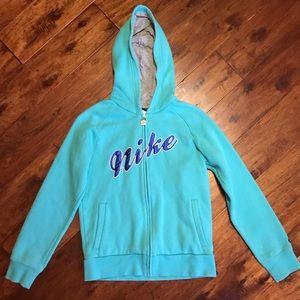Nike Zip-up Hooded Sweatshirt